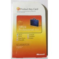 Wholesale Microsoft Office 2010 Product Key Card For Microsoft Office Professional 2010 from china suppliers