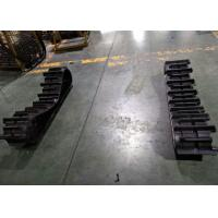 Buy cheap 300mm Width Continuous Agricultural Rubber Tracks For Rice Cutting Machine from wholesalers