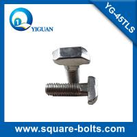hammer head T bolt  nickel plated for 45 series of aluminum extrusion