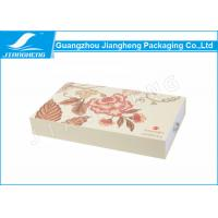 Quality EM Drawer Gift Boxes / Cosmetic Packaging Boxes LOGO Printing Matte Surface for sale