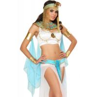 Quality International Cleopatra Adult Fancy Dress , Lingerie Sexy Pumpkin Costumes for sale