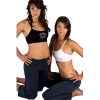 Wholesale Personalized Antimicrobial Hot Yoga Outfits Women Rayon Lycra from china suppliers