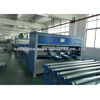 1050 Mm Arm Length Mattress Covering Machine Adjustable Height And Width