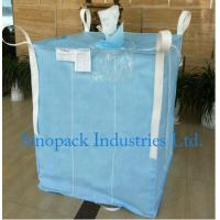 1000kg Anti static Industrial Bulk Bags CROHMIQ blue / white for storage chemical powder