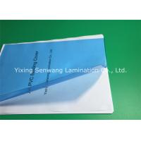 High Transparency Clear Blue PVC Binding Covers A4 Size 170 Micron
