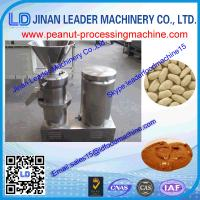Wholesale 30-40kg/h Easy operation Adjustable peanut grinding machine for sesame tahini from china suppliers