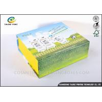 Quality Handmade Foldable Gift Boxes Colorful Appearance Excellent Scratch Resistance for sale