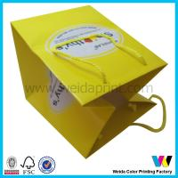 Wholesale Personalized Luxury Paper Shopping Bags , Large Folded Shopping Bag from china suppliers