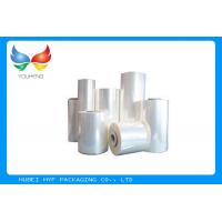Quality Food Grade Blow Soft PVC Shrink Film , Plastic Heat Shrink Wrap For Bottles for sale