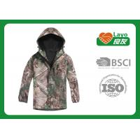 Breathable Waterproof Jacket , Mens Softshell Jacket With Hood