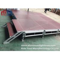 waterproof 4x4 mobile stage platform wooden stage platform 3 years