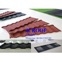 Quality Durable  cooffe stone Corrugated Metal Roofing Sheets newzealand stone tile for sale