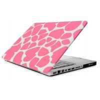 MacBook air/pro/retina water decal PC protective case cover ---Pink design