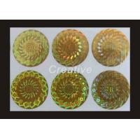 Eco Friendly TamperEvident Company Logo Printing Hologram Stickers