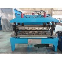 0.6mm Glazed Steel Sheet Roof Tile Forming Machine Hydraulic Decoiler 5 Tons