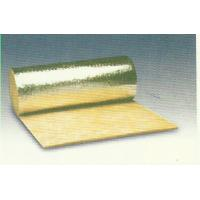 Thermal Rockwool Insulation Blanket Flexible Faced With Aluminum Foil