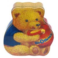 Wholesale Custom Tin Candy Containers , Bear-Shaped Candy Packaging Box from china suppliers