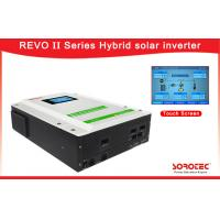 Buy cheap Output Power Factor PF=1.0 Solar Hybrid Energy Storage Inverters with Touch Display Screen from wholesalers