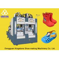 Quality Two Stations EVA Rain Boot Making Machine With PLC Touch Screen System for sale
