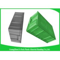 Quality Large Standard Warehouse Plastic Euro Stacking Containers 800*600*340mm for sale