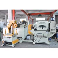 5 Ton Metal Coil 3 In 1 Auto Press Decoiler Straightener Feeder With Japan CKD AirCylinder