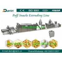 Wholesale Puff Corn snack food processing line with finish mixing , extruding , shaping from china suppliers