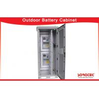 Buy cheap Outdoor IP55 Waterproof Battery Cabinet with Heat Exchanger for Telecom from wholesalers