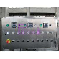 Buy cheap Electric Sterilizer Bottle Packing Machine System , Engineering Plastic Belt Recycling Tank System from wholesalers