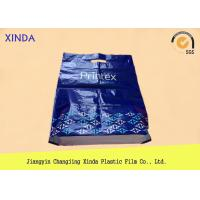 Buy Plastic HDPE customer logo design printed bags with die cut handle&side gusset at wholesale prices