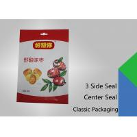 Wholesale 3 Side Seal Flat Pouch Center Seal Pouch , Specialty Food Packaging from china suppliers