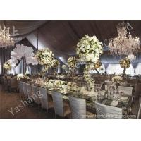 Quality Gorgeous Lining Adored Aluminum Frame Canopy Beautiful Wedding Tents for sale