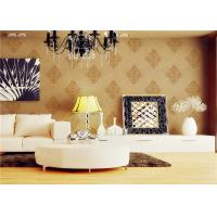 Quality Custom Made Economical Soft Glitter European Style Wallpaper For House for sale