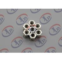Quality Swiss Turning Nickel Plating 1214 Iron Hexagonal Nuts , Order Custom Machined Parts  for sale