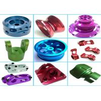 High Precision Aluminum Machined Parts For Hardware Machinery Various Color