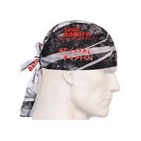 Buy UV  Headwear Red Blue Color With Size 25*50 CM Polyester Scarf at wholesale prices