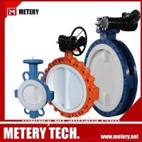Total Lined PTFE U Type Butterfly Valve