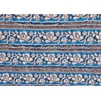 Quality Eco-Friendly Stretch Lace Fabric For Dresses , Multi Color Lace Fabric CY-LW0480 for sale