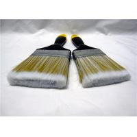 Wholesale Nylon Flat Paint Brush With Lacquered Wooden Handle / Iron Ferrule from china suppliers