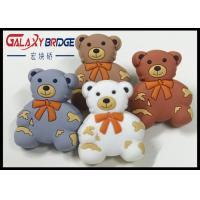 Grey Bear Soft Plastic Kids Furniture Knobs