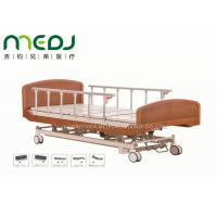 Buy Wooden Head Clinic / Hospital Patient Bed MJSD04-03 Electric Control at wholesale prices