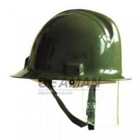 Wholesale Custom Marine Fire Fighting Helmet / Firefighter Rescue Helmet With Face Mask from china suppliers