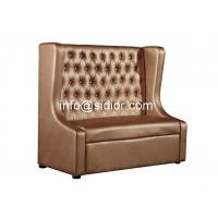 sign side booth standing sofa,visitor sofa,reception sofa,lobby sofa, PU sofa SD-4007