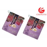Quality Zipper Top Sealing & Handle Stand Up Resealable Pouches for Sugar Packaging for sale