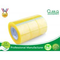 Quality Pressure Sensitive BOPP Packing Tape Strong Adhesive Single Sided Clear Shipping Tape for sale