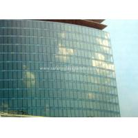 Quality Curve / Flat Laminated Safety Glass Minimum Size 250 Mm-350 Mm Solid Structure for sale