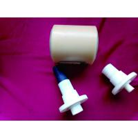 Buy Dustproof Power Plant Nylon Conveyor Rollers With Shaft / Bearing at wholesale prices