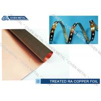 High Performance Rolled Annealed Copper Foil  ,  Thin Copper Foil for Laminating