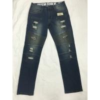 Wholesale Spring And Summer Womens Tapered Leg Jeans , Womens Stretch Straight Jeans from china suppliers