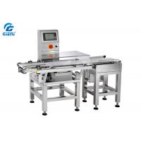 Stainless Steel Weight Checking Machine For Cosmetic Products , Sliver Color
