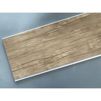Quality Wood Color Plastic Laminate Wall Covering , Pvc Laminated Ceiling Board for sale